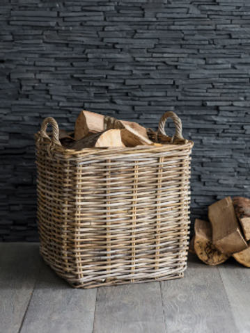 Garden Trading Rattan Square Basket - Large