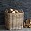 Thumbnail: Garden Trading Rattan Square Basket - Large