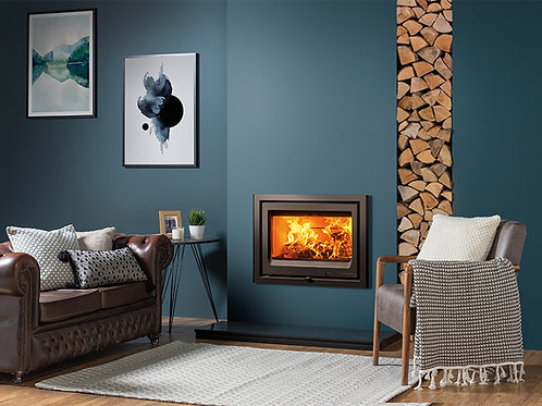 Vogue 700 Inset Wood Burning Fire by Stovax