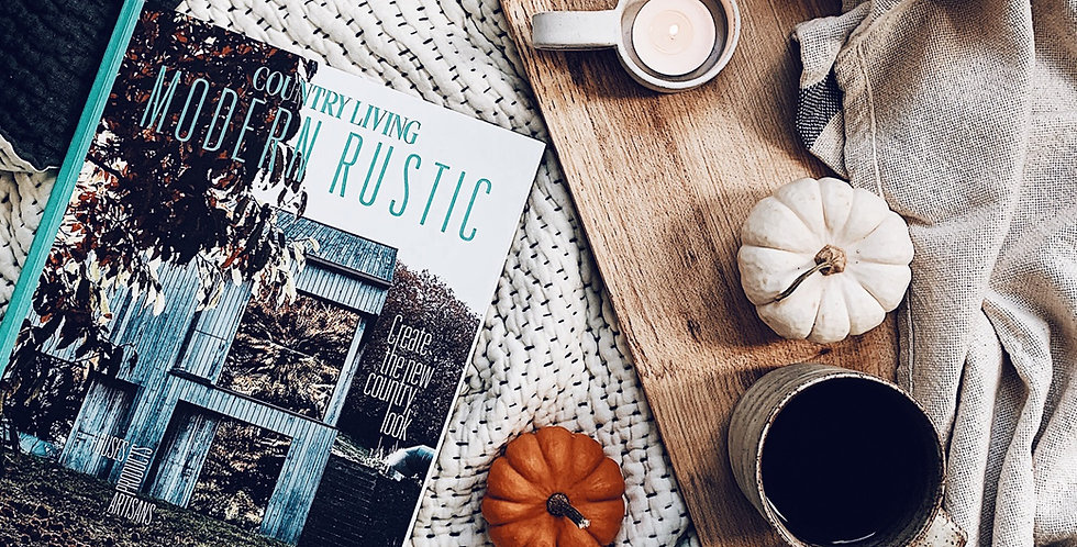 Country Living Modern Rustic -  vol 15