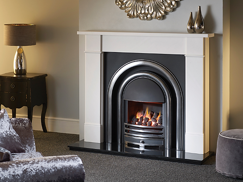 The Hersham White Marble by Capital Firesplaces