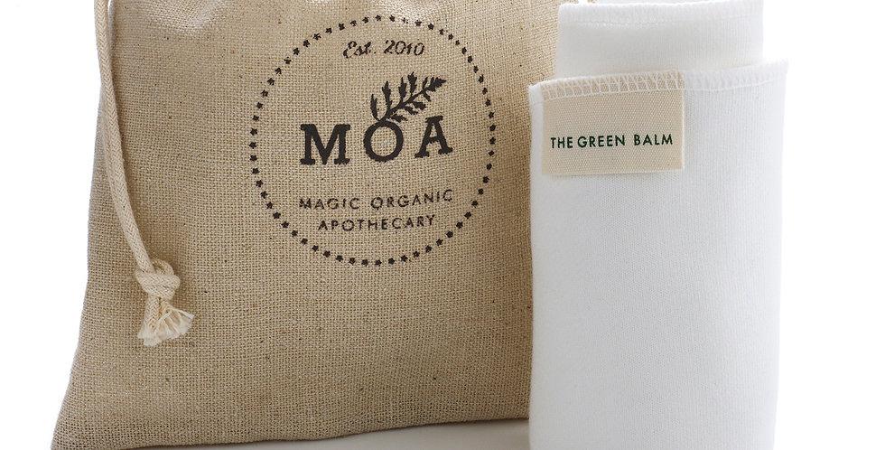 Moa Bamboo Face Cloth and Hemp Bag