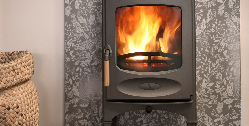 CHARNWOOD C-FOUR WITH LOG STORE