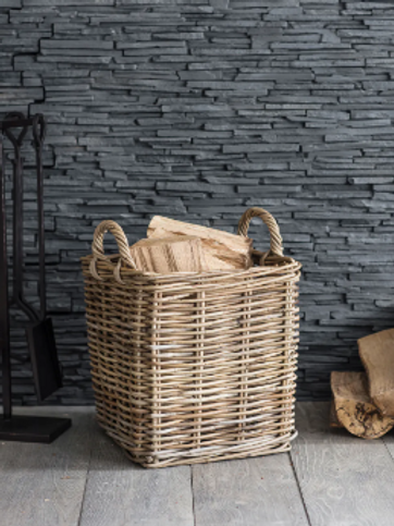 Garden Trading Rattan Square Basket - Small