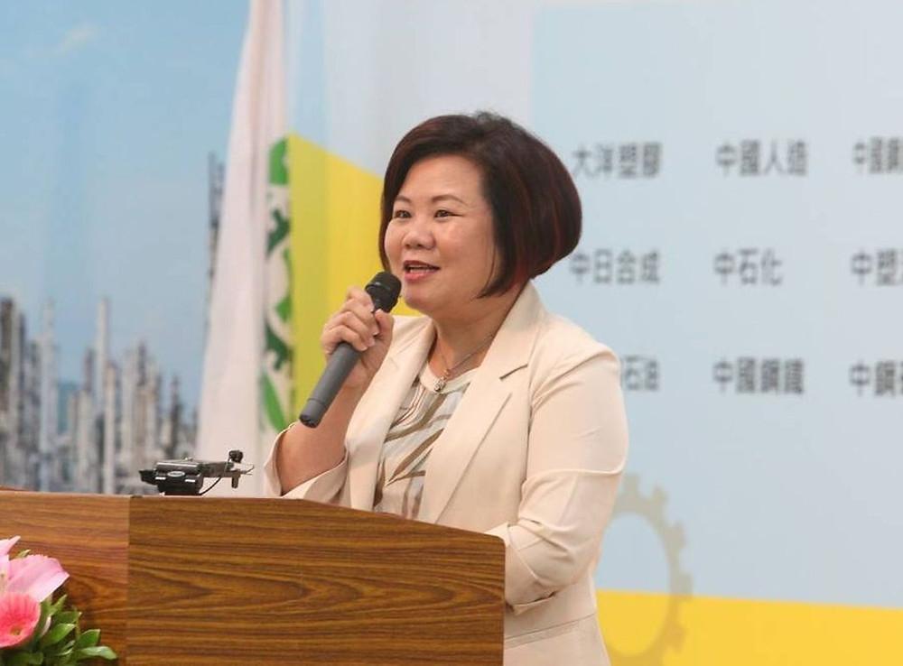 勞動部長許銘春向所有企業強調三遍:「有工安,企業才能永續發展!」記者劉學聖/攝影