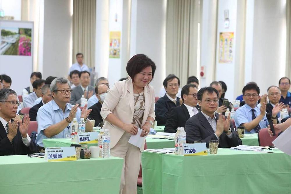 勞動部長許銘春出席「高風險企業CEO工安領導高峰會」。記者劉學聖/攝影