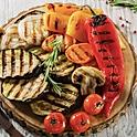 Овощи гриль (баклажаны, перец, цукини, грибы)
