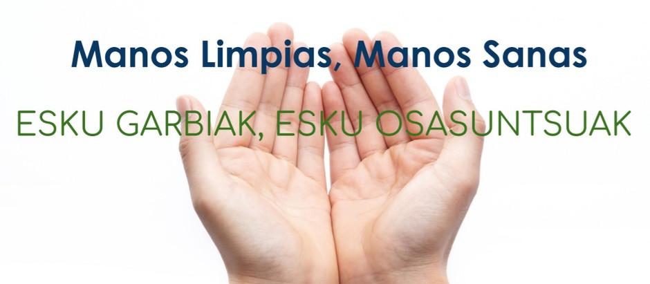 Asunción Klinika dedicará la primera quincena de mayo a concienciar sobre  la higiene de manos