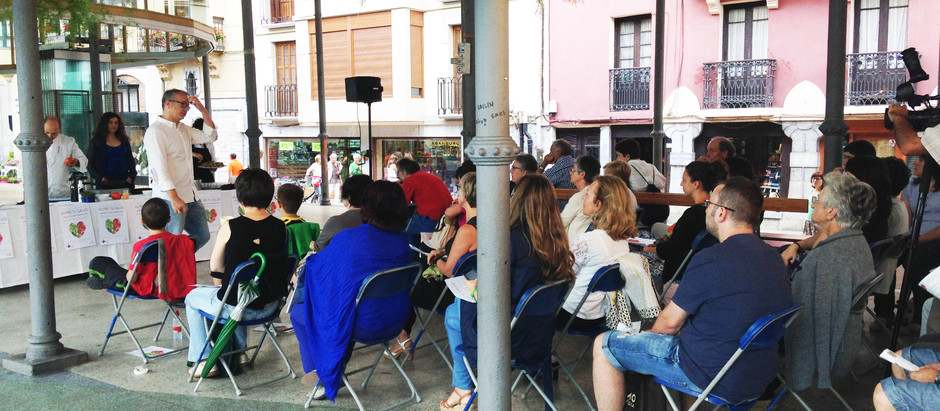 Se pone en marcha la campaña Osasuna Kalean, charlas y talleres sobre salud en el Tinglado de Tolosa