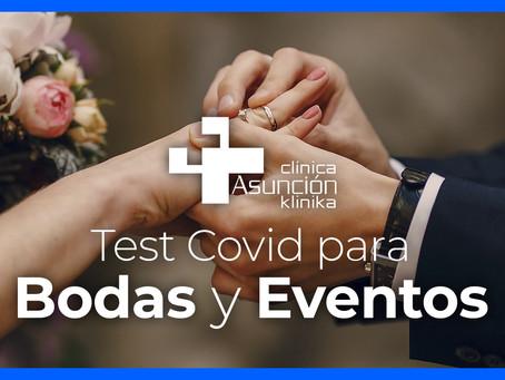 Celebra tu boda con toda seguridad con el Laboratorio Móvil Test-Covid de Asunción Klinika