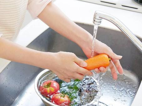 Zein higiene-neurri izan behar ditugu elikagaiekin?