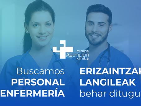 Buscamos Personal de Enfermería