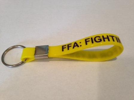 FFA Silicone Keychain