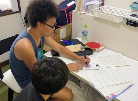 ジュニアチームの勉強もサポート!