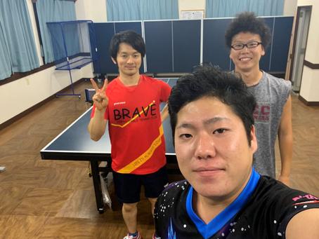卓球Youtuberの方々が横須賀のアイリス卓球場に来てくださいました!