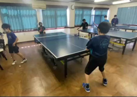 アイリスジュニアの練習風景‼卓球好き集まれ‼