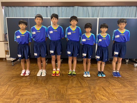 アイリス卓球場のジュニアチーム‼横須賀、横浜の中学生も大募集‼