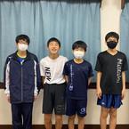 横須賀市中学校総合卓球大会・鴨居中団体優勝✨