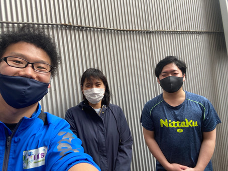 注目‼元日本代表・森本文江さんが横須賀のアイリス卓球場でレッスン開始‼