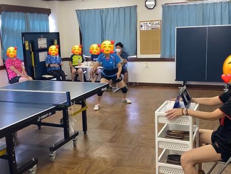 アイリス卓球場で試合を開催!