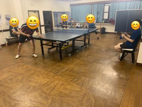 白熱‼横須賀のアイリス卓球場で試合を開催‼