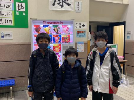 アイリス卓球場のジュニアチームが第11回中区団体リーグに参戦!!