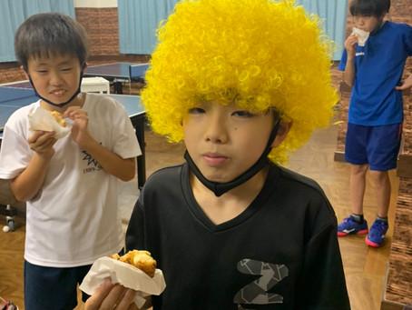 浜岡コーチの誕生日祝いでみんなでシュークリームを頂きました✨