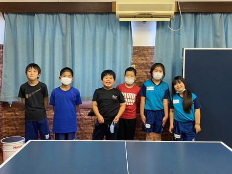 楽しく卓球しよう‼みんなでたくさん練習しよう‼初級者クラス‼
