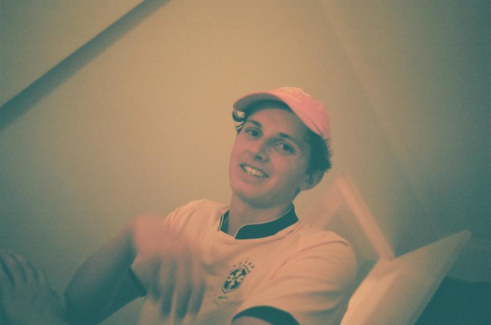 film male portrait hat