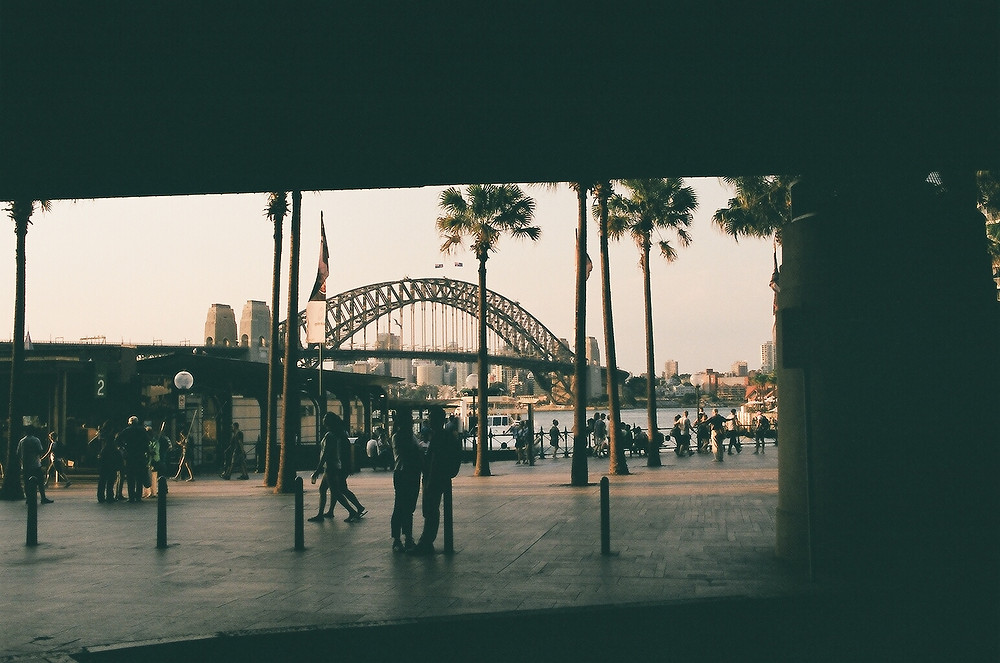 Sydney harbour bridge film