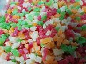 Ананас цукаты кубики 3-5 мм микс Тайланд