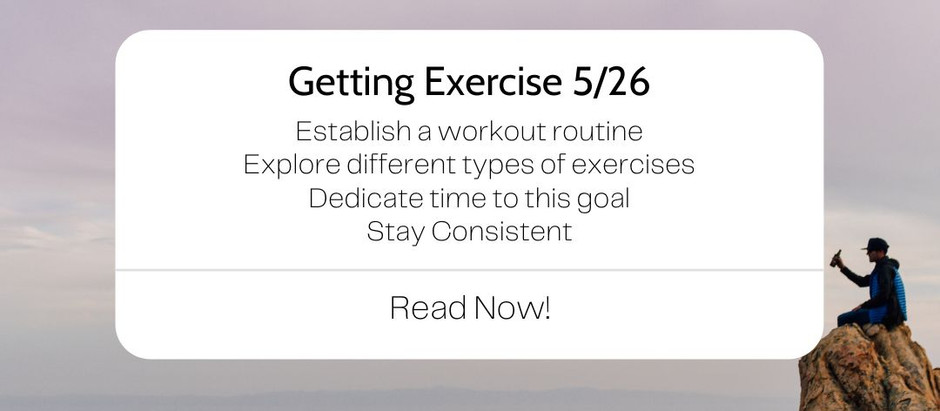 How to Get More Excerise
