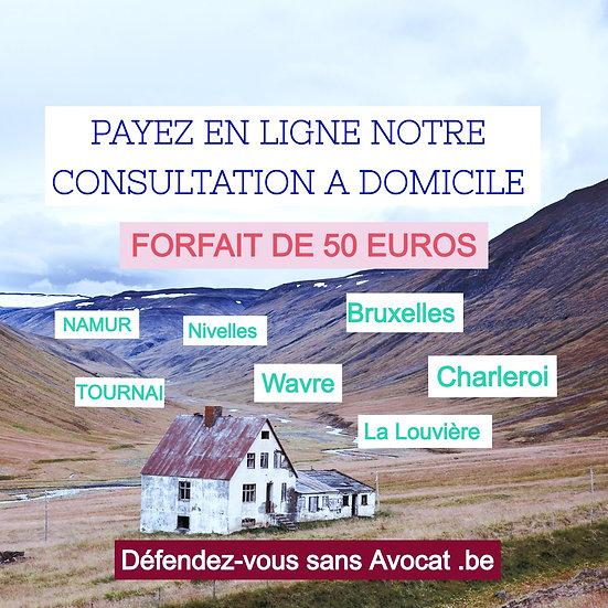 Consultation à votre domicile en Wallonie et à Bruxelles