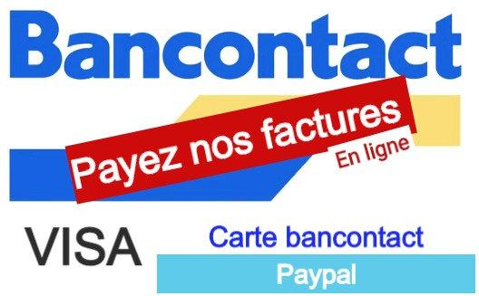 Payez Ici Nos factures en Ligne