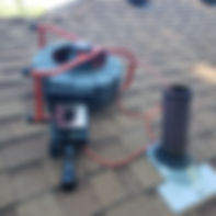 Sewer Scope from Roof Vent
