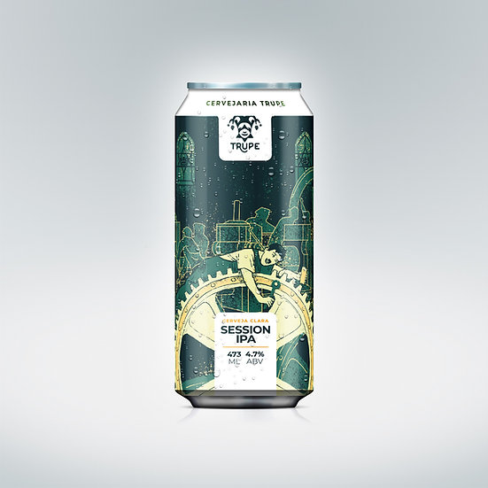 Session Ipa TRUPE  473 mL (Caixa com 6 latas)