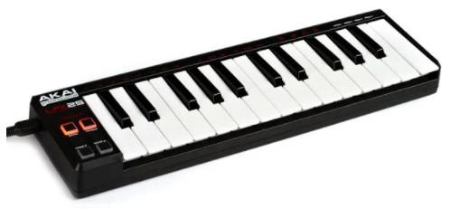 mini clavier akai lpk25