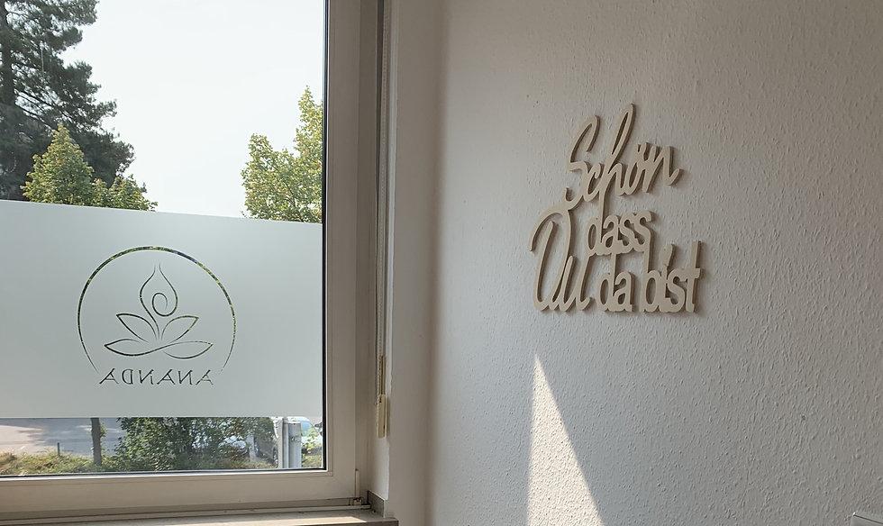 Ananda Yogazentrum Grevenbroich, Schön, dass du da bist