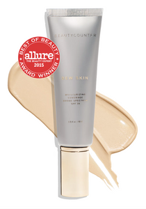 This Dew Skin Tinted Moisturizer has SPF 20, and works great for dry skin