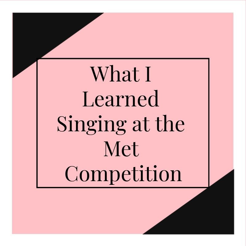 Liya describes what she learned singing at the Met competition for the first time as a lyric soprano