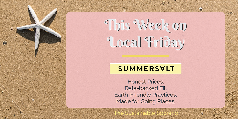 This week's Local Friday post is dedicated to Summersalt, a sustainable and ethical swimwear brand out of Saint Louis, Missouri