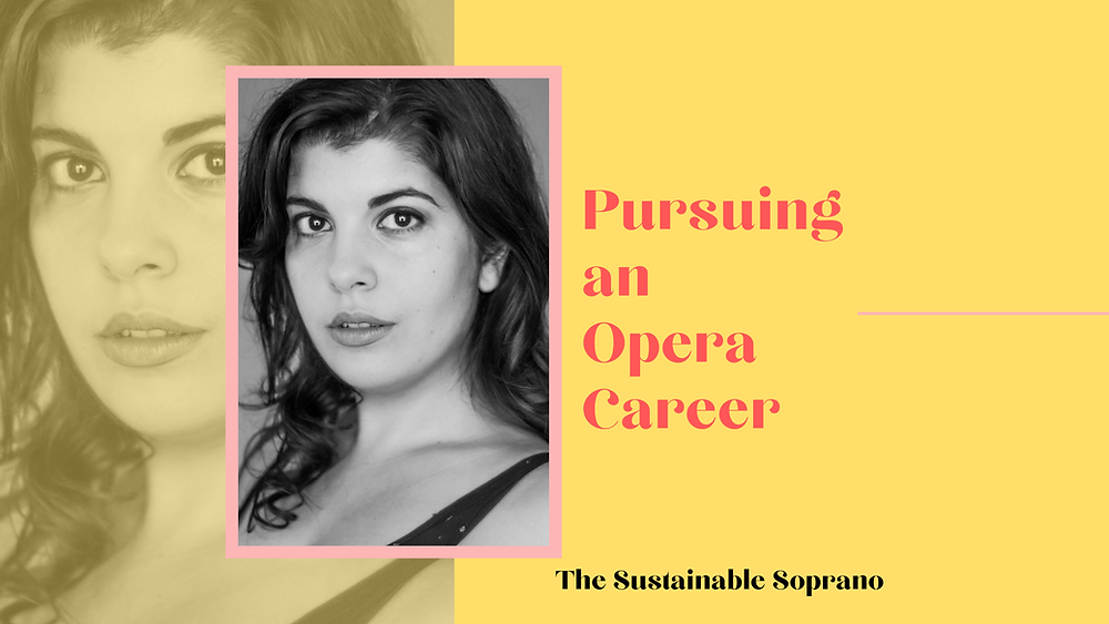 Liya Khaimova talks about what pursuing an opera career looks like as a lyric soprano