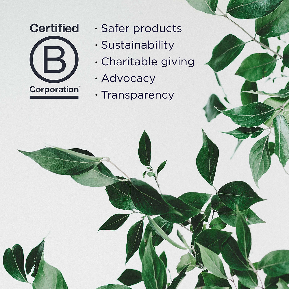 Certified B Corporations must go through a rigorous process to obtain the certification