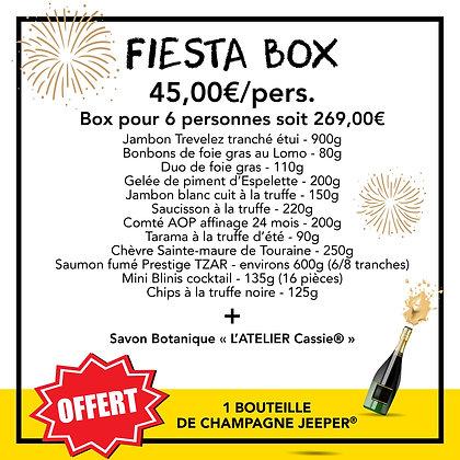 FIESTA BOX- 45,00€/pers. - Box pour 6 personnes