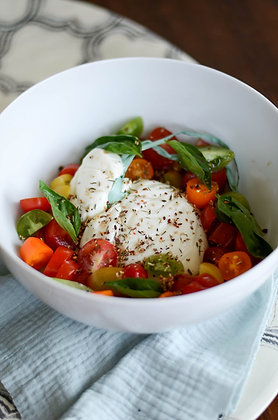 Tomate et Burrata à la truffe