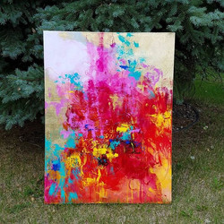 A few more shots of the painting I posted earlier. _What Would I Be Without You__._._