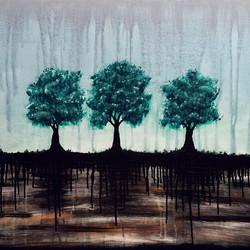 AutumnInDecember_#autumnindecember #art #tree #3 #instaartist #nofilter #acrylic #painting #pa