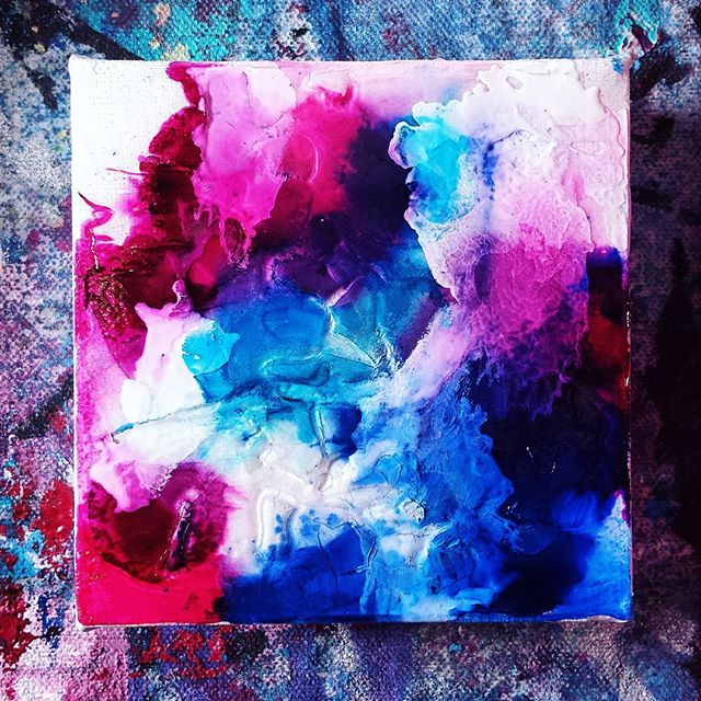 Can you use alcohol ink on canvas_ Up until today, my answer would have been _no