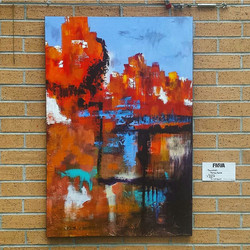 Ashley Kunz Abstract Painting
