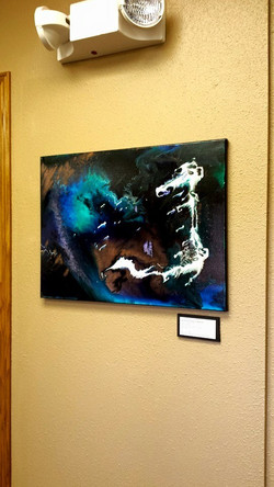 Ashley Kunz abstract paintings